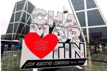 Chamartín comenzó ayer martes la campaña de promoción del comercio y restauración local
