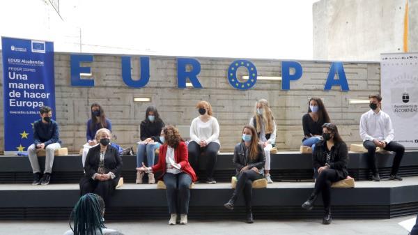 Alcobendas celebra el Día de Europa con alumnos de los colegio del municipio