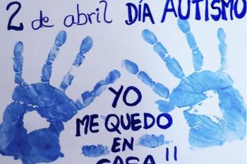 San Fernando anima a sus vecinos a realizar algunos gestos sociales de apoyo al Autismo