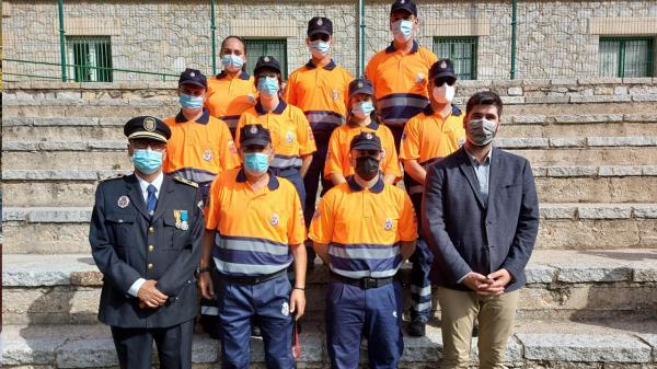 Los voluntarios y voluntarias superaron un curso de formación básica para aspirantes