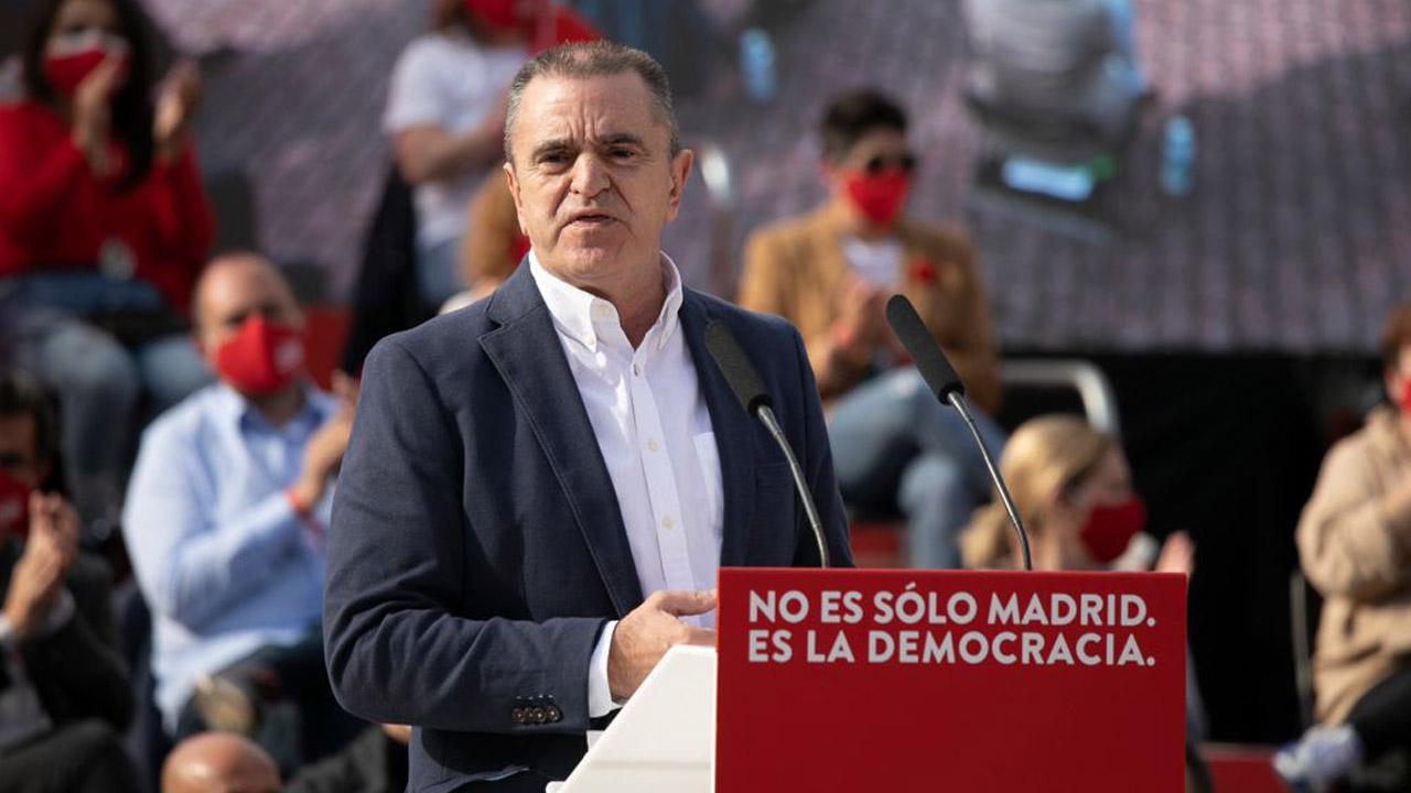 Tras la derrota del partido en las elecciones del 4-M el secretario general madrileño se despide de su cargo