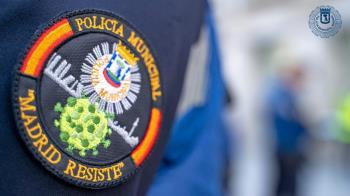 Madrid protege sus calles con un gran despliegue policial de 220 agentes y drones