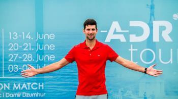Djokovic no tuvo un camino sencillo para obtener el trofeo