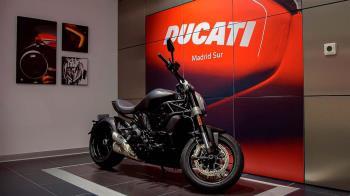 Más de 1.000m2 dedicado en exclusiva a la marca Ducati y Ducati Scrambler.