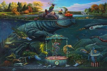 El artista suma su mural