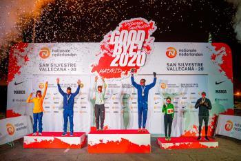 El keniata y la etíope fueron los más rápidos en la última prueba del año 2020