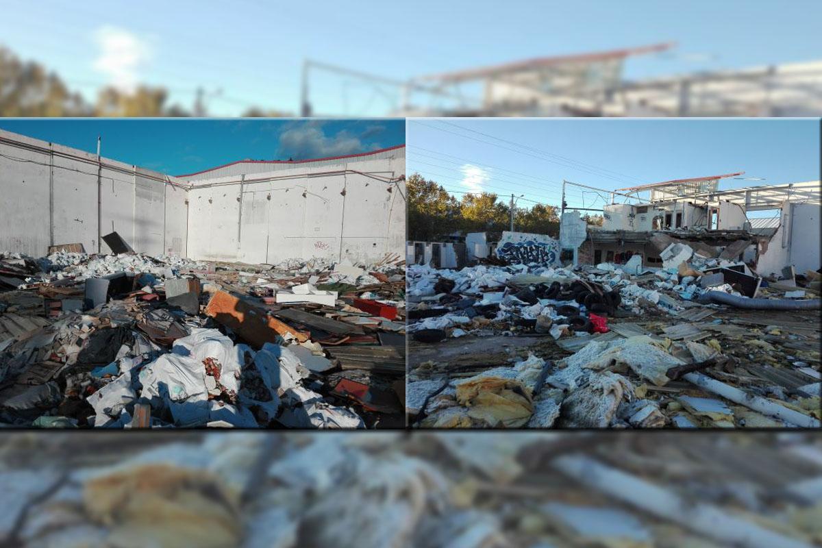 El vertedero acumula toneladas de residuos desde hace tiempo