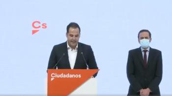 Ignacio Aguado renuncia a la candidatura y muestra su total apoyo al partido