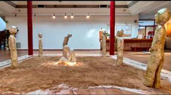 Piezas de escultura de la mano de Elsa Sierra que se podrán visitar en el CSC Joan Miró