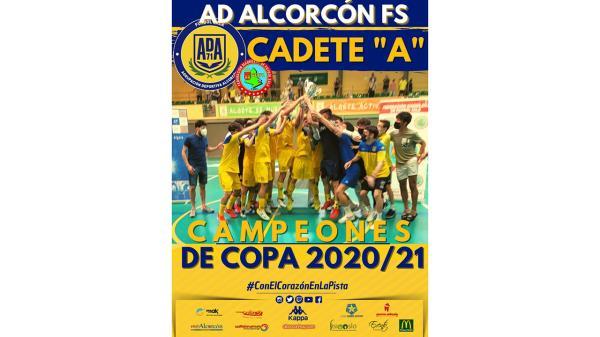 Temporada inmejorable para el cadete de la AD Alcorcón FS