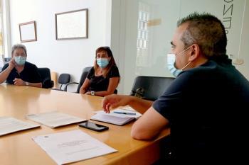 Corpa se ha reunido con familiares de internos de las dos residencias de mayores