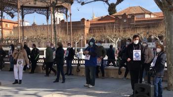 Los Temporales e Interinos del Ayuntamiento se manifiestan cada semana frente al Ayuntamiento