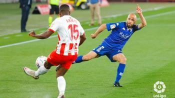 El conjunto alfarero consiguió un valioso empate frente al Almería