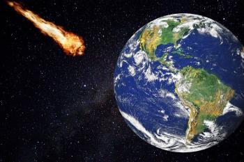 Una gran bola de fuego iluminó la noche de los cielos de la región y se desintegró a tan solo 34 kilómetros sobre la localidad