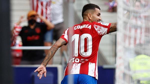 Carrasco dio el gol de la victoria al conjunto colchonero