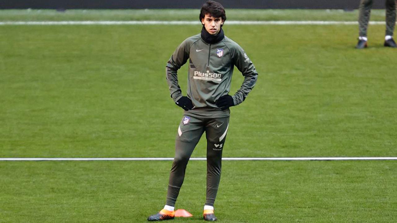 El portugués se ha entrenado al margen del resto del equipo