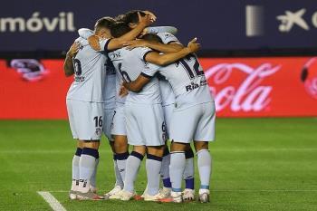 El Atlético cosechó una gran goleada a costa del Osasuna con un 0-5 en el Sadar