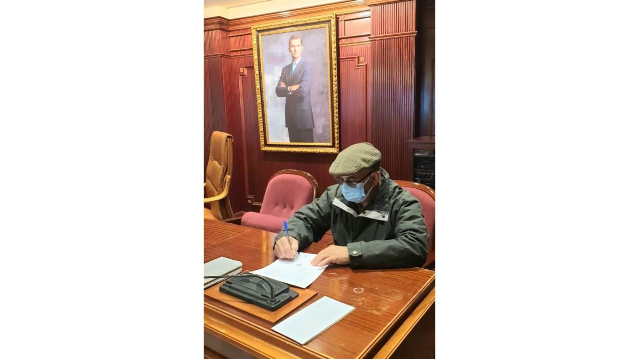 El proceso de firma finaliza en el día de hoy