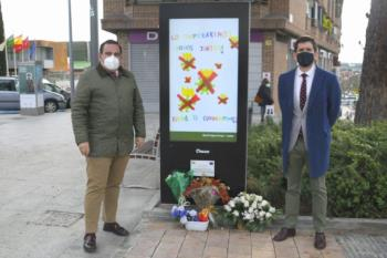 La campaña creativa se expondrá en el mupi del municipio
