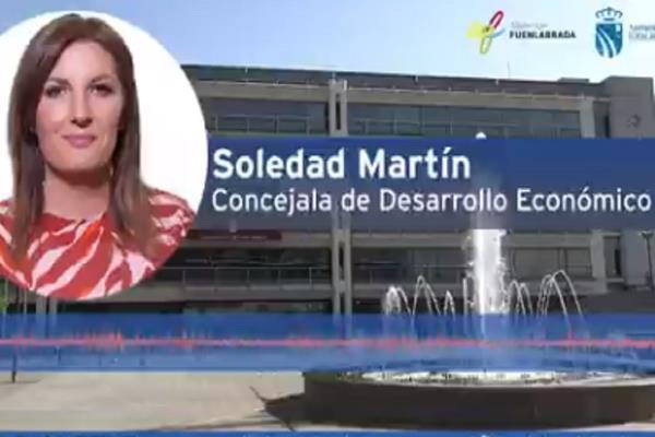 El Ayuntamiento de Fuenlabrada concede una ayuda de 400 euros a 700 empresas y autónomos del municipio
