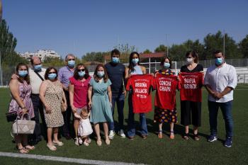 El campo de fútbol de Los Rosales en Villaverde pasará a denominarse David Díez de la Cruz