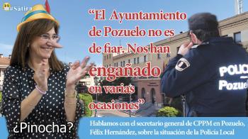 Hablamos con el secretario general de CPPM en Pozuelo, Félix Hernández, sobre la situación de la Policía Local
