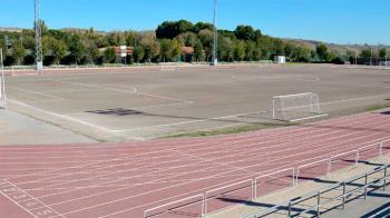 Se reformará el campo de fútbol y la pista de atletismo