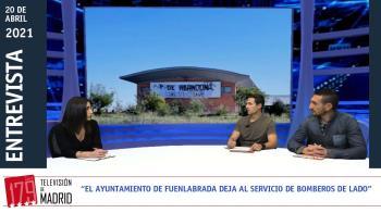 """""""El ayuntamiento está dejando morir el servicio de Bomberos de Fuenlabrada, sin formación y sin incorporar personal"""""""