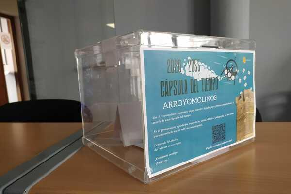 El Ayuntamiento instala 7 urnas en dependencias municipales para la Cápsula del Tiempo