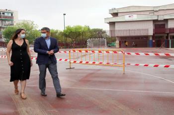 Habrá dos grandes reformas, la de los CEIP Antonio Machado y Tierno Galván.