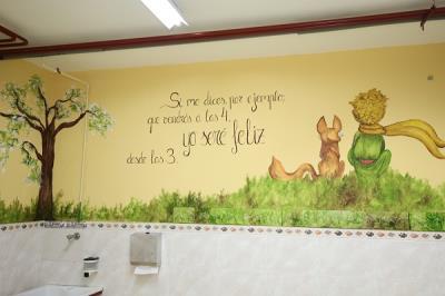 Lee toda la noticia 'El Ayuntamiento 'pinta sus escuelas' en apoyo a la educación pública'