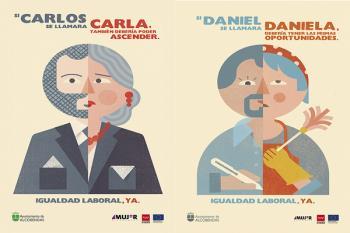 La campaña consiste en la difusión de mensajes en el mobiliario urbano de la ciudad