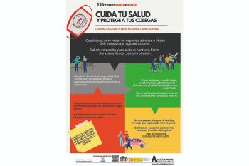 Esta iniciativa tiene como objetivo concienciar a los jóvenes sobre la necesidad de respetar las medidas de seguridad y prevención
