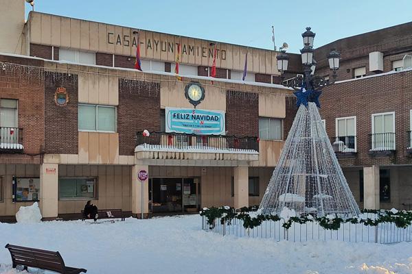 """El consistorio ha tenido que """"efectuar un esfuerzo extraordinario"""" ante el temporal de nieve"""