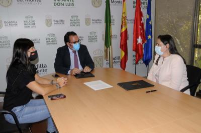 Lee toda la noticia 'El Ayuntamiento y la Fundación Once del Perro Guía (FOPG) renuevan el convenio de colaboración'