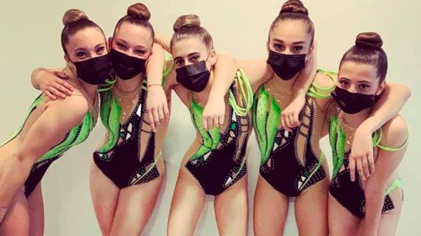 Las chicas se colocaron en el cuarto puesto en la competición de clasificación el pasado fin de semana 24 y 25 de abril