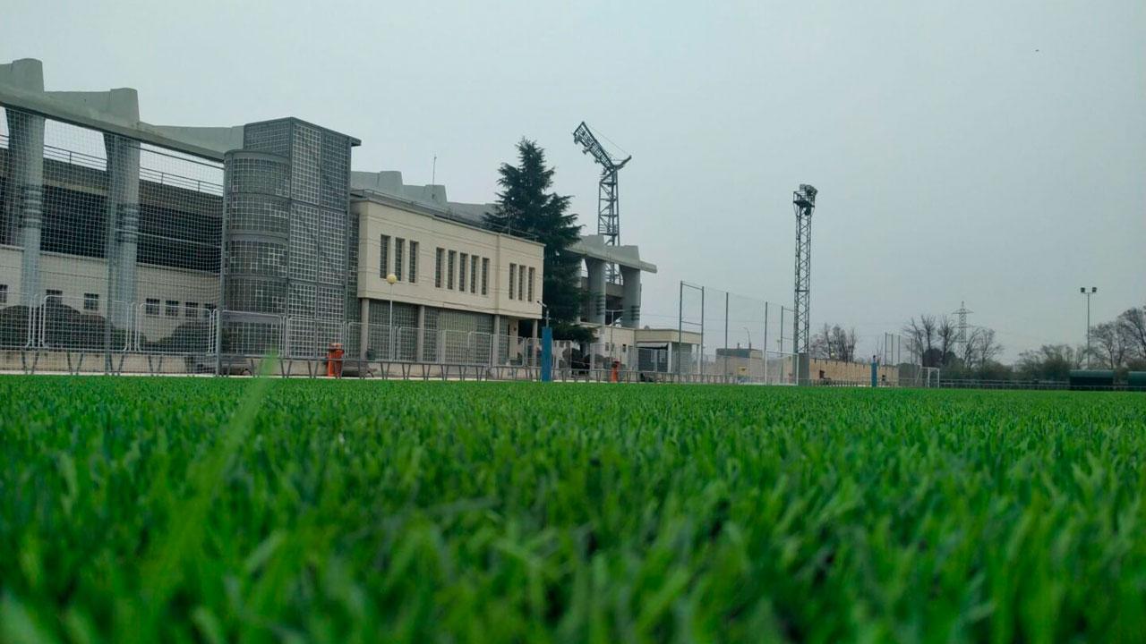 Se han llevado a cabo diversas actuaciones en el campo de fútbol de San Fernando de Henares