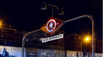 La estación de metro Avenida de América pasa a llamarse Avenida del Capitán América