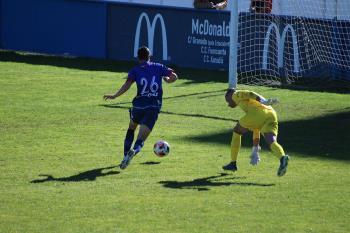 Los mostoleños consiguieron su primera victoria por 2-0 en casa de la mano de Salmerón y Ramos