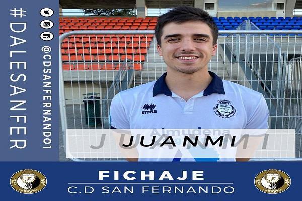 El CD San Fernando refuerza la plantilla para la temporada 2020/21