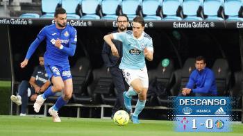 Los gallegos lograron llevarse 3 puntos, contra el Getafe, que les acercan a la sexta posición, mientras que los de Bordalás sufren para alejarse de los puestos de descenso