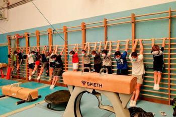 Los gimnastas majariegos han vuelto a los entrenamientos
