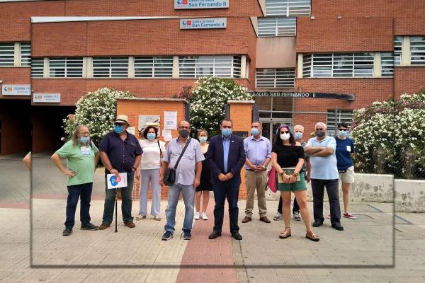 El Centro de Salud San Fernando II de Henares cerrará la Atención Primaria a las 18 horas