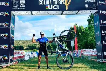 El de Torrejón de Ardoz participó en la primera prueba UCI en España en la era del Covid-19