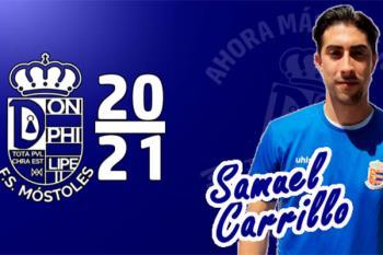 Samuel Carrillo jugará con el equipo mostoleño en la temporada 2020/2021