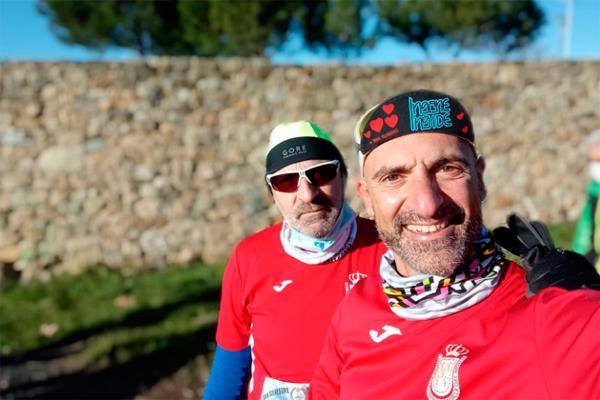 Varios integrantes del club corrieron la mítica y fría prueba