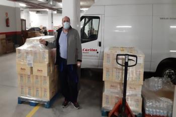 Cáritas Diocesana será la encargada de distribuir los cocidos solidarios de esta inciativa