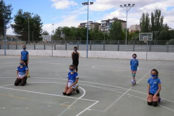 Respetando rigurosamente los protocolos de seguridad de la Concejalía de Deportes