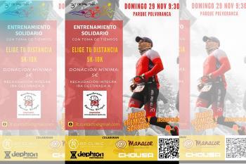 El próximo domingo 29 de Noviembre a las 9:30 h AM , en el Parque de Polvoranca