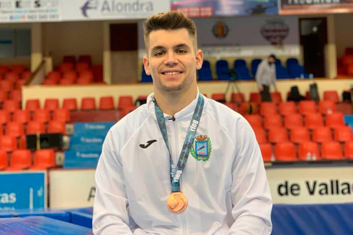 Nuestros gimnastas estuvieron presentes en el Campeonato de España de Trampolín